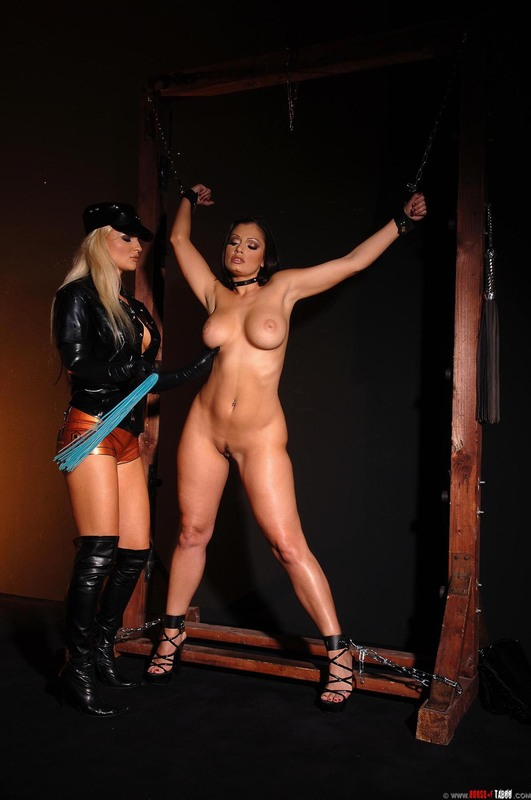 Fetish bdsm sub tied up and